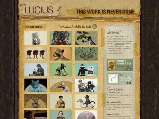 Le portfolio de Kevin Lucius
