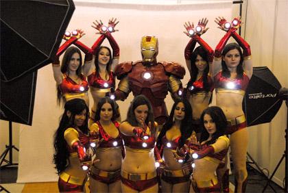 Japan Expo 2011: Iron Man et ses Iron Girls