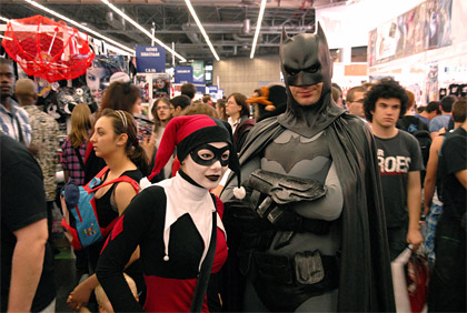 Japan Expo 2011: Batman et Harley Quinn