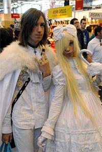 Japan Expo 2011: amoureux en blanc