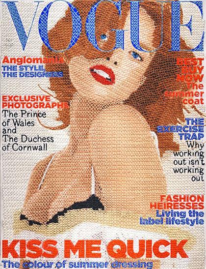Vogue tricoté main par Inge Jacobsen