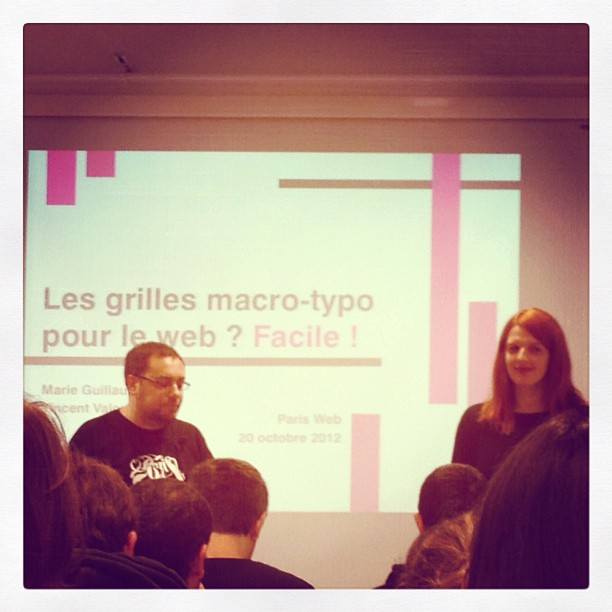 Vincent et moi pendant notre atelier Paris Web