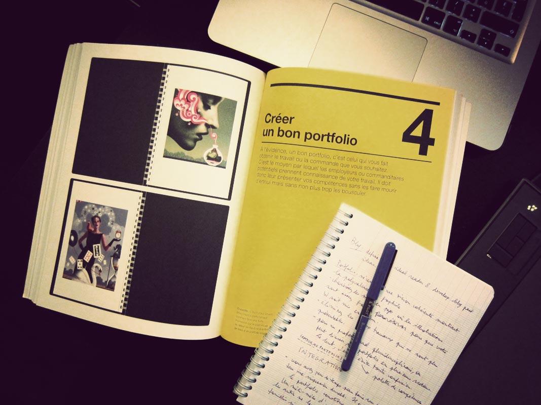exemple de book graphiste
