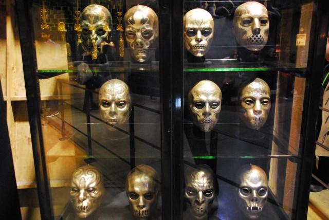 Les masques des Mangemorts