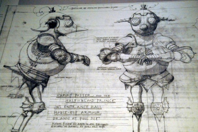 Concept art pour une amure d'elfe demaison