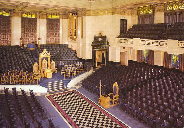 Le temple maçonnique deLondres
