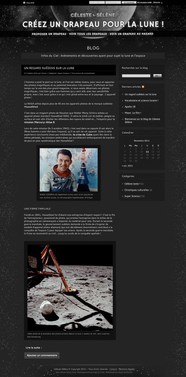 Céleste Sélène — Blog