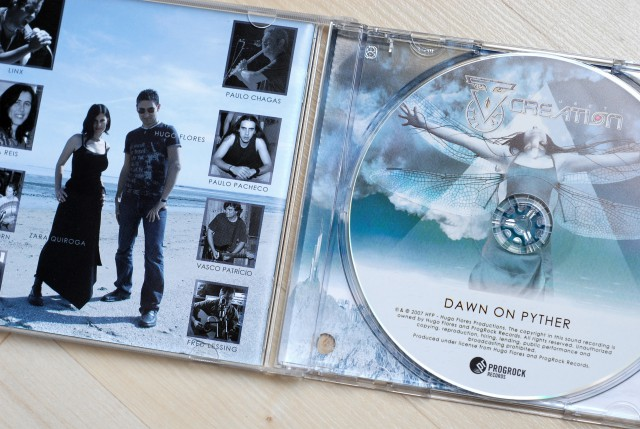 Project Creation – « Dawn on Pyther » (CD)