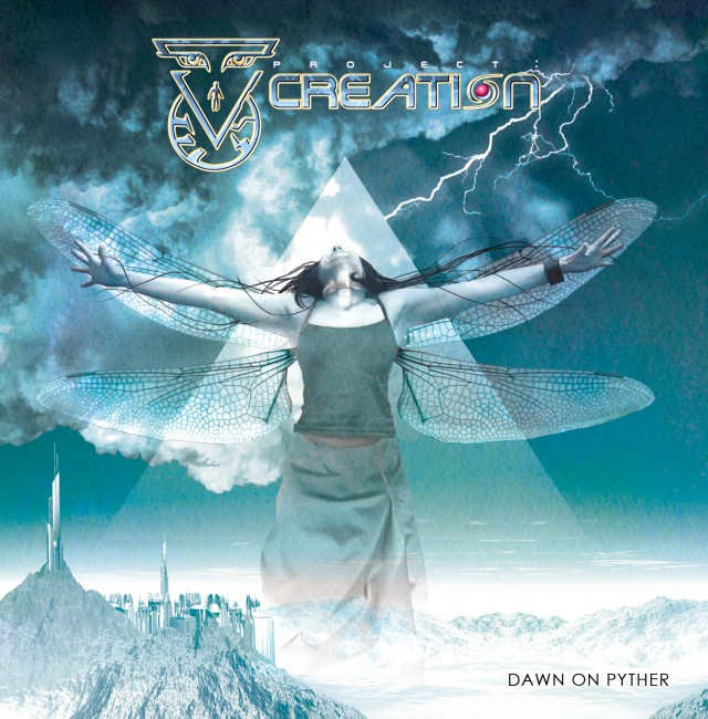 Project Creation – « Dawn on Pyther » (pochette)