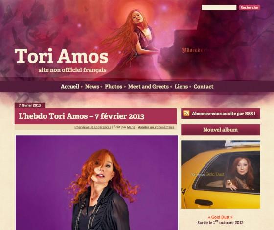 Tori Amos France - v1