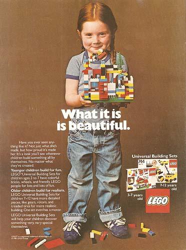 Publicité LEGO vintage