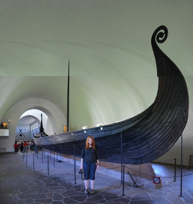 Au Musée des bateaux vikings