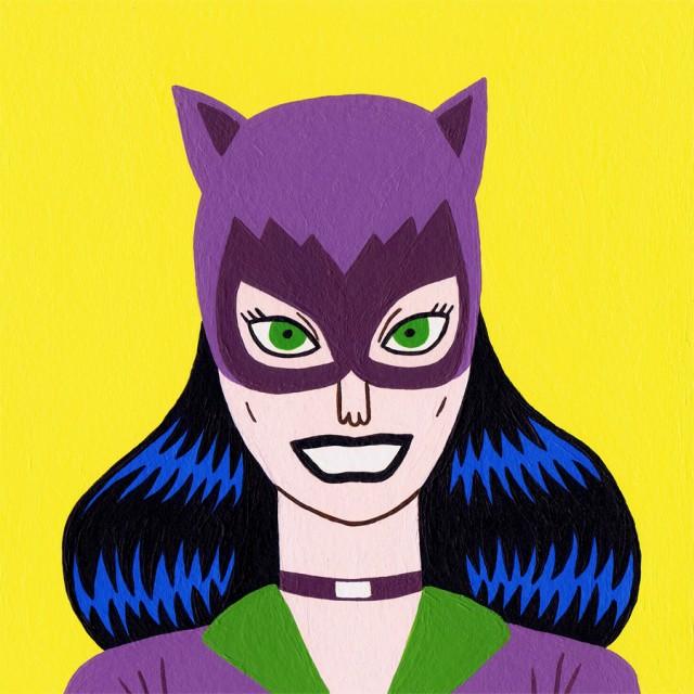«Classic Catwoman» deJack Teagle