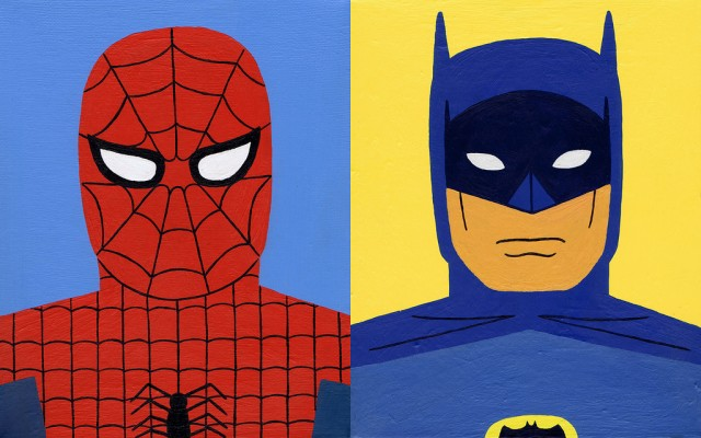 « Spiderman and Batman » de Jack Teagle