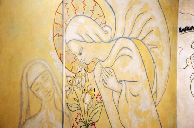 Fresque deJean Cocteau