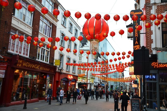 Le quartier chinois de Londres