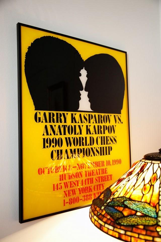 Affiche designée par George Lois