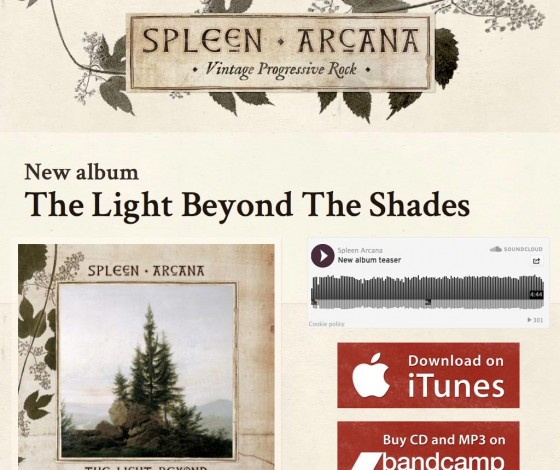 Spleen Arcana – site officiel