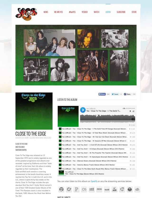 Site officiel de Yes