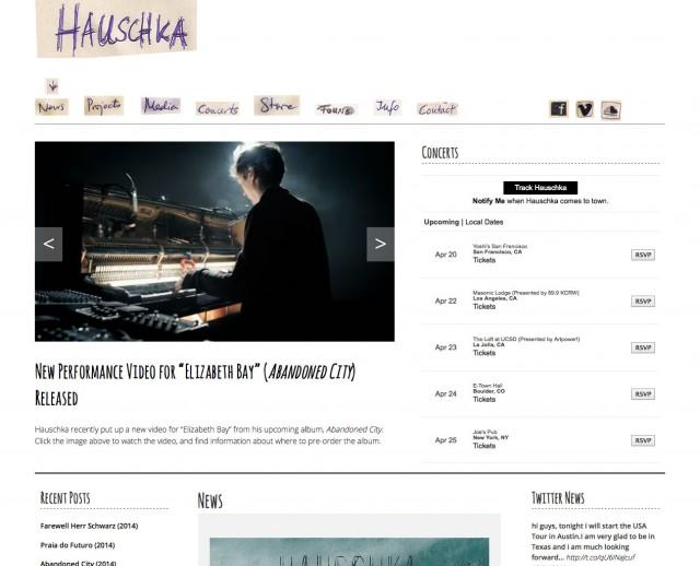 Site officiel de Hauschka