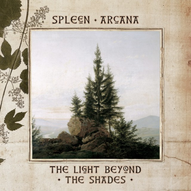« The Light Beyond The Shades » de Spleen Arcana – pochette