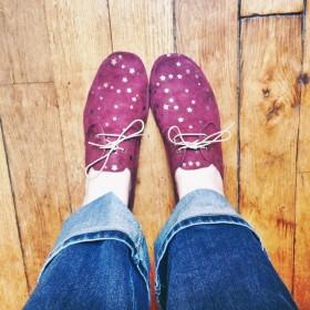 Chaussures étoilées