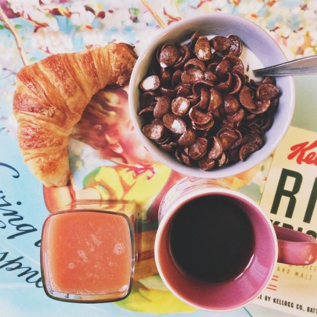 Le petit-déjeuner des champions