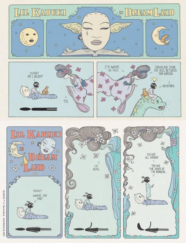 David Mack – Kabuki façon Little Nemo
