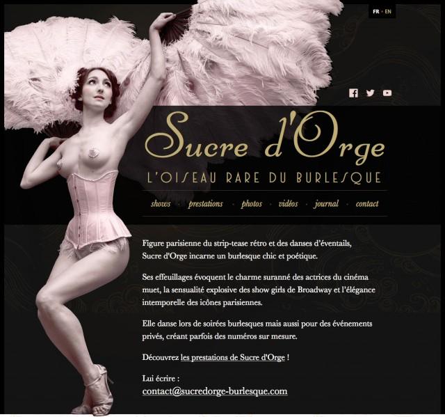 Le nouveau site de Sucre d'Orge