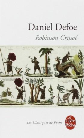 Première de couverture pour une édition française de «Robinson Crusoé»