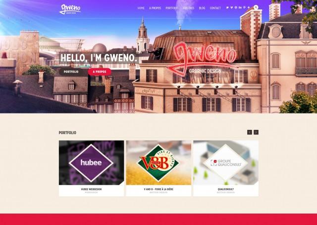 Le site de Gwenole Jaffrédou