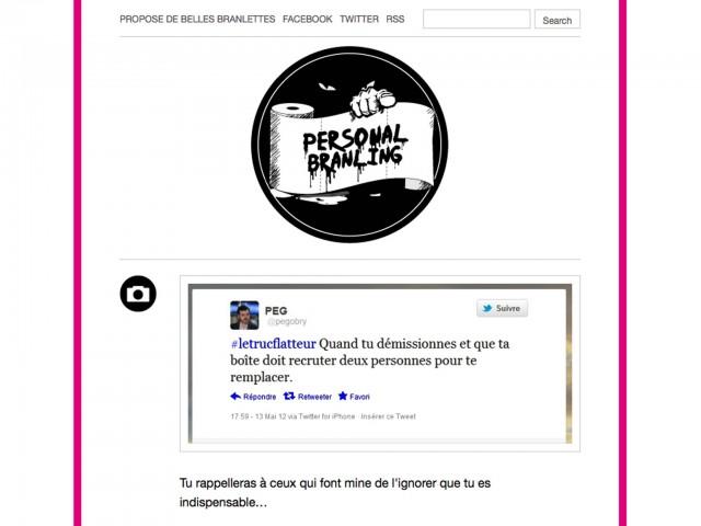 Le Tumblr Personal Branling