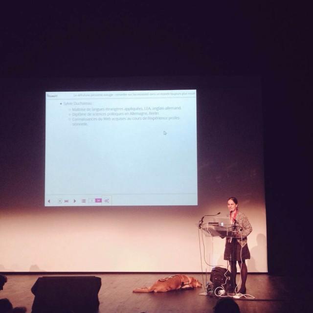 Sylvie Duchateau à Paris Web
