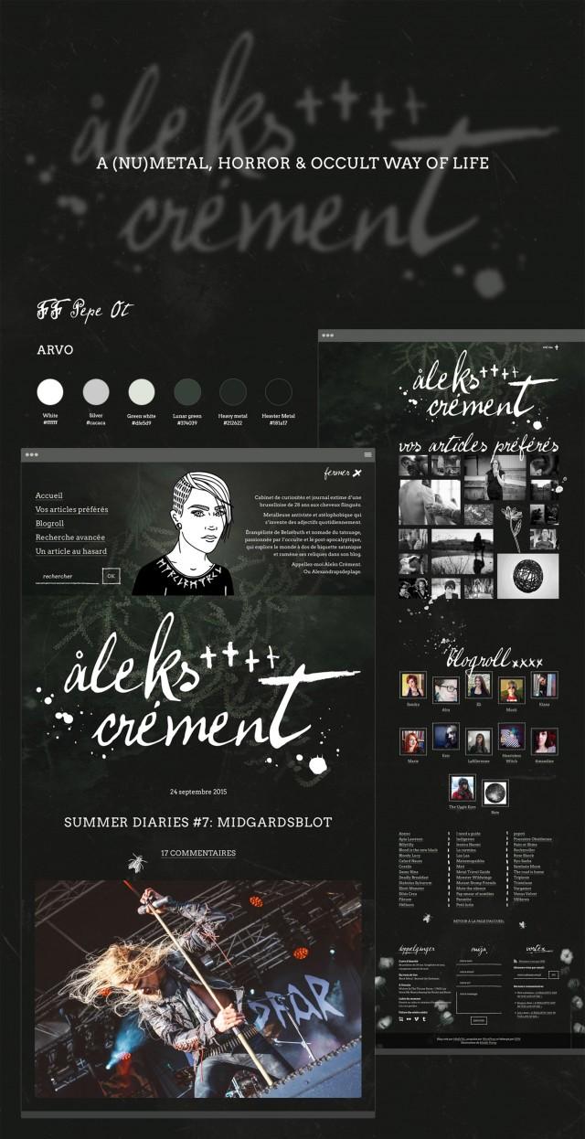 Lacharte web d'Aleks