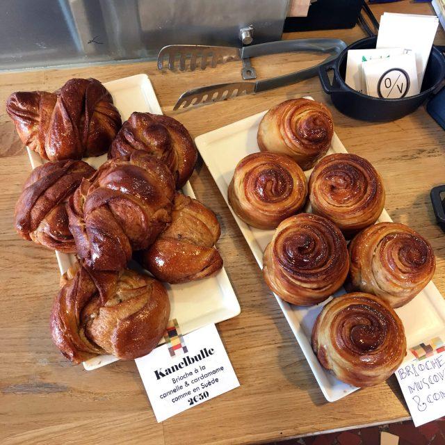 Les divines brioches dechez le Kitchen Café