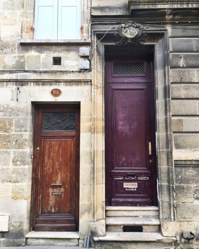 Jolies portes bordelaises