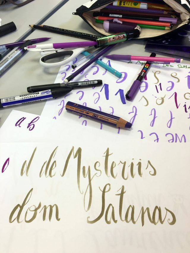 L'atelier lettering